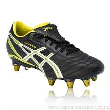 buy rugby boots nz asics mens black shoes lethal warno st2 rugby boots ss16