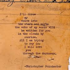 Love And Stars Quotes by Their Tears Were Their Love Poem 21 By Christopherspoetry On Etsy