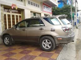 lexus rx300 year 2000 svr service vehicle rental in cambodia service with driver