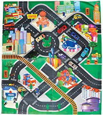 amazon com miles kimball toy car floor mat toys u0026 games