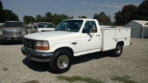 Ford F250 Service Truck - 1996 ford f250 7 3 diesel service body sas motors