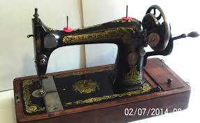 rare find u003e 1917 singer antique sewing machine sphinx decal