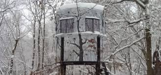 Best Deer Hunting Blinds Using A Hunting Blind Heater Safely Banks Outdoors