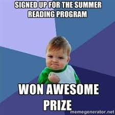 Reading Meme - summer reading k 12 youngsville public library
