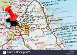 Map Of Premium Outlets Orlando by Orlando On Us Map Stock Photo Royalty Free Image 72207031 Alamy
