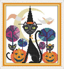 Black Cat Halloween Crafts Online Get Cheap Halloween Cat Crafts Aliexpress Com Alibaba Group