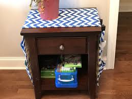64 inch dorm room table runner pocket organizer nightstand fridge