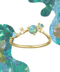 opal rings jewelry images Opal rings jewelry trends stacking ring jpg