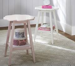 pottery barn kids flower table accent table pottery barn kids