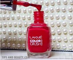 lakme color crush nail polish no 24 review and swatches