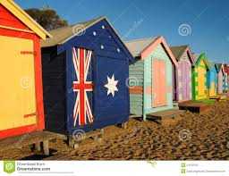 melbourne beach cabins royalty free stock photo image 24019765