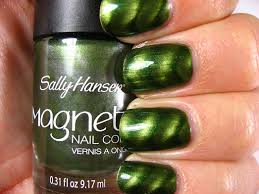 right on the nail sally hansen magnetic nail polishes electric