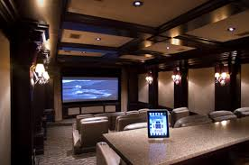 home theater design decor