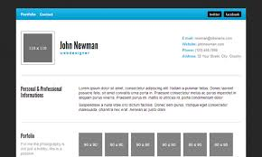 Portfolio Resume Sample by 20 Best Free Html Resume Templates By Trendy Theme