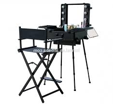 makeup luggage with lights incredible makeup case with lights and mirror professional makeup