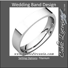 mens wedding band metals men s wedding bands cubic zirconia cz