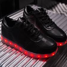 light up tennis shoes for dark moon fluo shoes