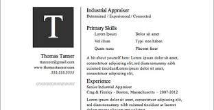 Great Resume Templates Free Google Resume Templates Free Jospar