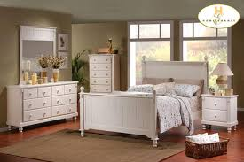 furniture glamorous full size bedroom sets in white color