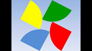 Green White And Yellow Flag Colours Yellow Green Blue Red Brown Black Orange Purple