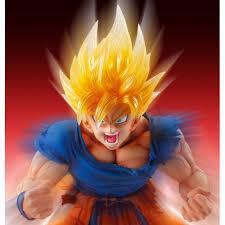 super figure art collection dragon ball super saiyan son goku
