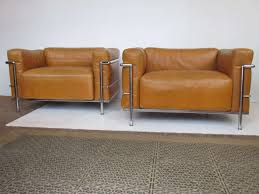 Lc3 Armchair Le Corbusier Lc3 Grand Modele Armchairs For Cassina At 1stdibs