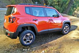 red jeep renegade 2016 2015 jeep renegade first drive autotrader ca