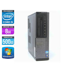 plus de bureau windows 7 pc de bureau d occasion dell 790 desktop i5 8go 500go hdd