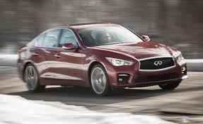 lexus hybrid vs infiniti hybrid 2014 infiniti q50s hybrid awd long term test u2013 review u2013 car and driver