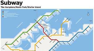 Nyc Subway Map Poster by Want This The Hamptons Subway Map Nbc New York