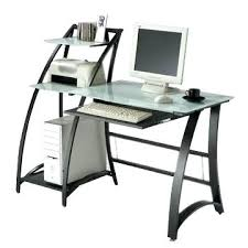 Ikea Glass Desk by Desk Glass Top Computer Desk Ikea Glass Top Computer Desk With