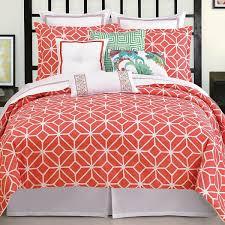 bedroom pink coral bedding with coral comforter set