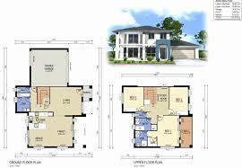 two storey residential floor plan 2 storey house floor plan elegant modern 2 storey house design view
