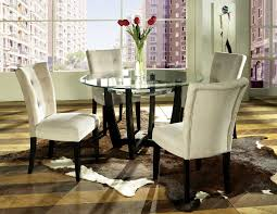 uncategorized dining room round table and arm chairs glass