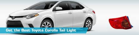 2010 toyota corolla tail light bulb toyota corolla tail light taillights action crash tyc 2010