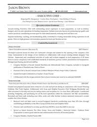 Culinary Resume Samples Resume Sample Chef Resume Cv Cover Letter