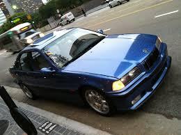 Bmw M3 1998 - e36 1998 bmw m3 sedan estoril blue