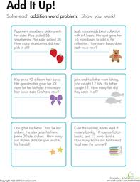 addition addition and subtraction word problems worksheets 3rd