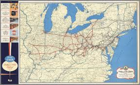 Map Of North Eastern United States by Baltimore U0026 Ohio Railroad Geographically Correct Map Of