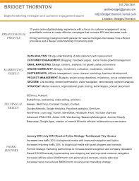 Social Media Community Manager Resume Marketing Sample Resumes Marketing Resume Sample Resume Genius