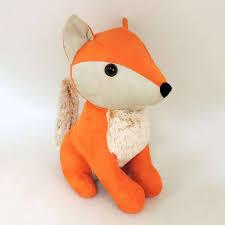weighted door stop fox doorstop dunelm pattern ideas pinterest foxes fabrics