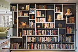 Bookshelf In Living Room Mondrian Bookcase Eclectic Living Room Seattle By