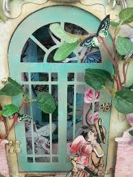 Artfully Musing Secret Garden Tunnel Book U0026 New Flower Fairies