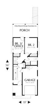 narrow home floor plans designs for narrow lots to build in fill houses
