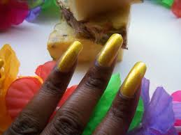 poppin u0027 nail colors of the week revlon pineapple fizz and wet n