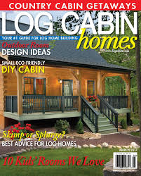 log cabin homes magazine features timberhaven log homes