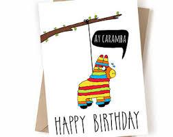 cute birthday card etsy