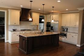 black glazed kitchen cabinets brauch custom cabinetry perimeter is maple painted linen with