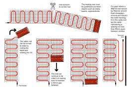 how to install underfloor heating mats carpet vidalondon