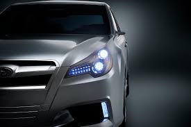 new subaru legacy concept shows its face at the detroit auto show